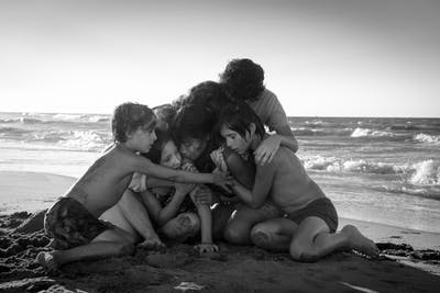 """Roma"" premiered at the Venice Film Festival in 2018."