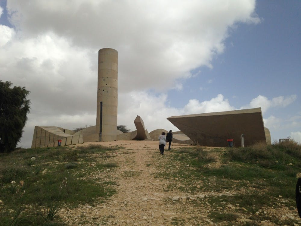 Monument to the Negev Brigade, Be'er Sheva
