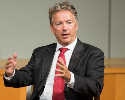 Sen.(R-KY) Rand Paul speaks July, 27, 2017, at the CATO Institute in Washington, D.C.