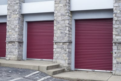 Storage units remain closed Jan. 10 on Henderson Street. Students say their items secure can be a worry of theirs.