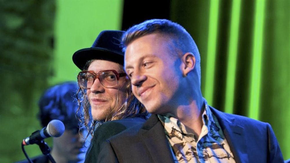 Hip-hop duo Macklemore and Ryan Lewis will be headlining Union Boardâ??s official Little 500 concert. Talib Kweli and Wale will also perform