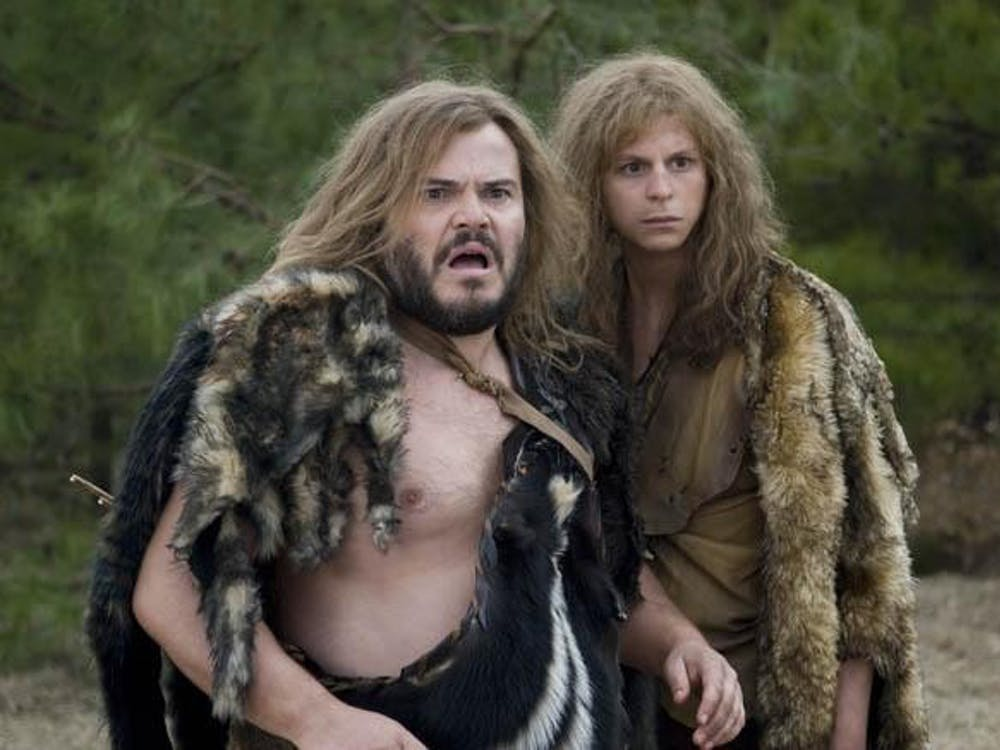 Jack Black and Michael Cera in Columbia Pictures' comedy YEAR ONE.