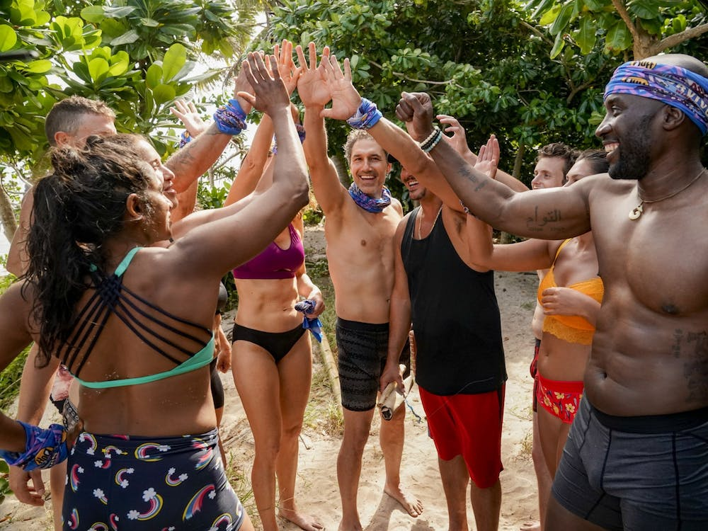 """Natalie Anderson, Ethan Zohn, Boston Rob Mariano, Adam Klein, Michele Fitzgerald and Jeremy Collins are contestants who returned to compete on """"Survivor: Winners at War."""""""