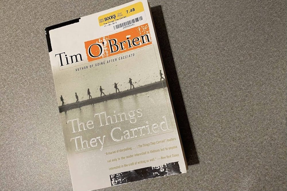"""<p>Tim O&#x27;Brien released """"The Thinge They Carried"""" on March 28, 1990. </p>"""