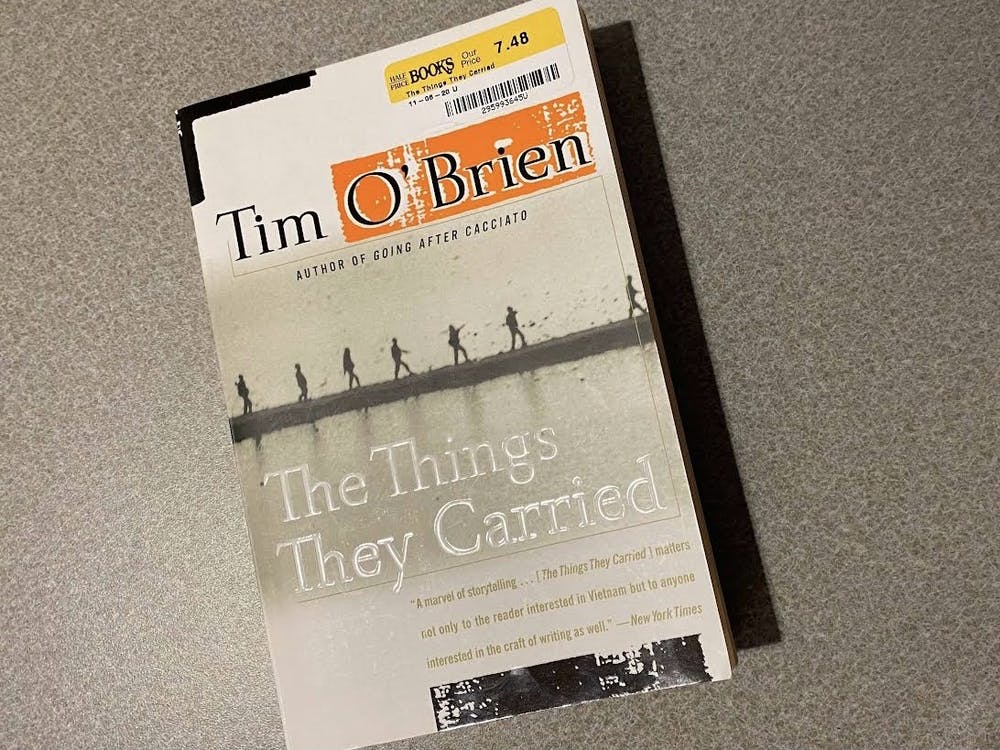 """Tim O'Brien released """"The Thinge They Carried"""" on March 28, 1990."""
