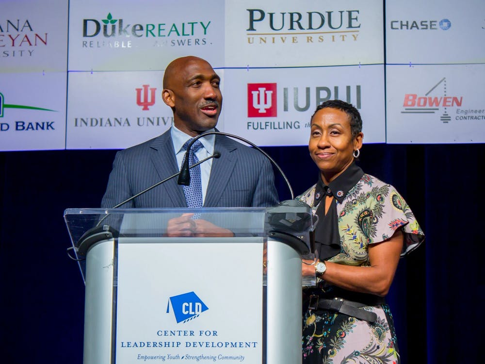 IU alumni Derica Rice and Robin Nelson-Rice graduated from the Kelley School of Business in 1990. They donated $1 million to go toward fellowships for MBA students.