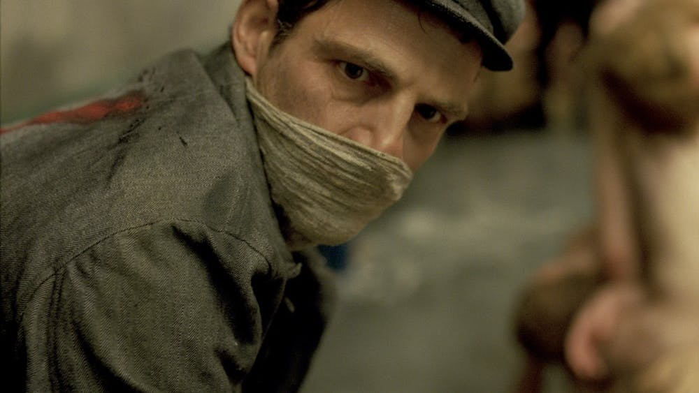 "Hungarian actor Géza Röhrig stars in the Oscar winning film ""Son of Saul."""