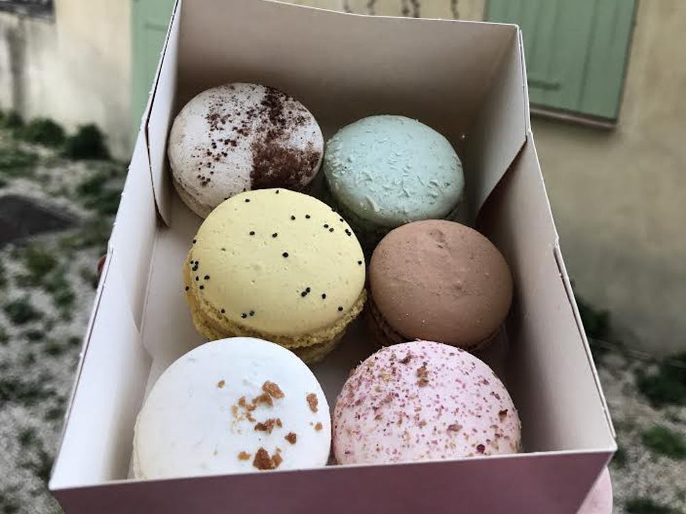 The best way to celebrate National Macaron Day while in France is to get a half dozen from a local favorite in Aix-en-Provence, Les Macarons de Caroline.