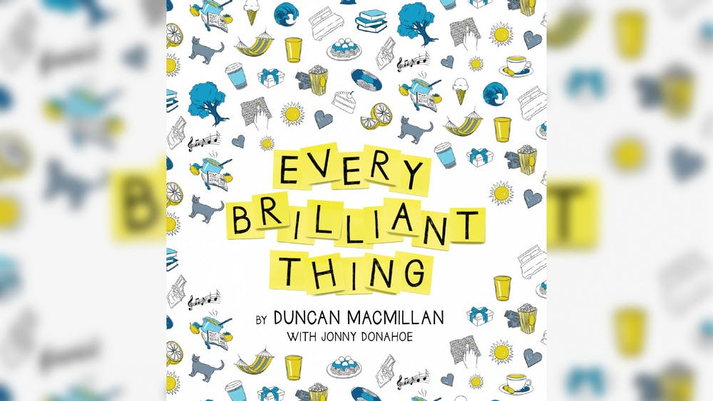 """Cardinal Stage begins its mainstage season with the production of """"Every Brilliant Thing"""" Sept. 5-6 and Sept. 11-12. The production is outdoors at McCormick's Creek Ampitheater in Spencer, Indiana."""