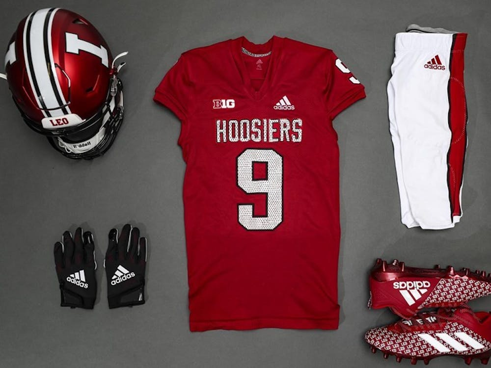 IU football's throwback uniforms for its Sept. 18 game against the University of Cincinnati feature elements from former head coach Bill Mallory's teams from the 1980s and 1990s.