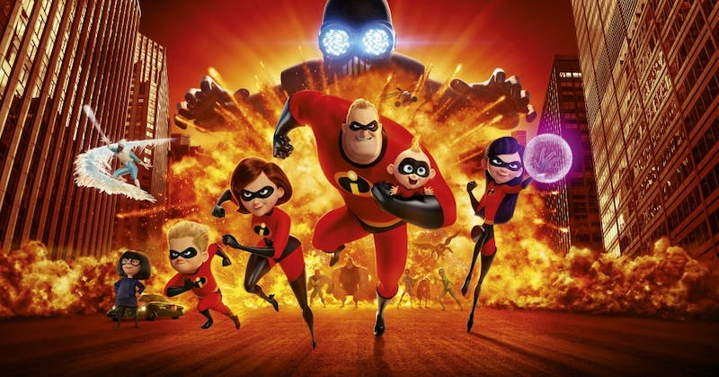 """Incredibles 2"" was released June 15 in the U.S."
