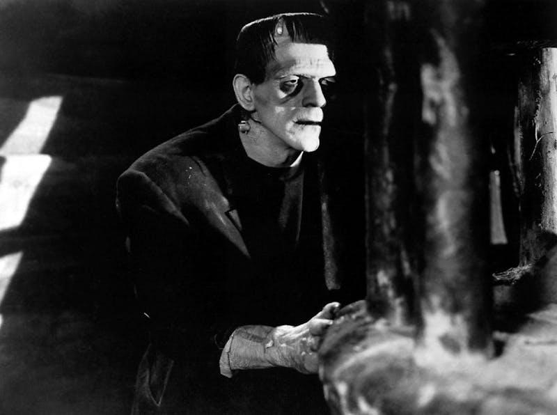 """The 1931 version of """"Frankenstein"""" starred Boris Karloff."""