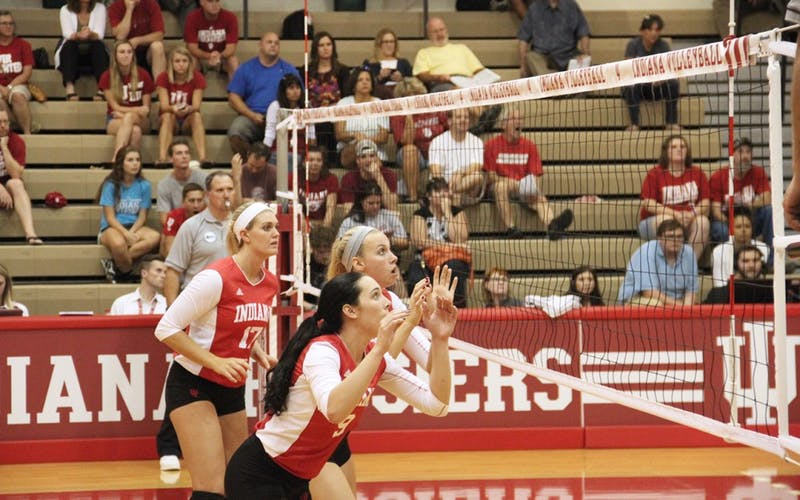 Iu Volleyball Starting Setter Breaks Finger Indiana