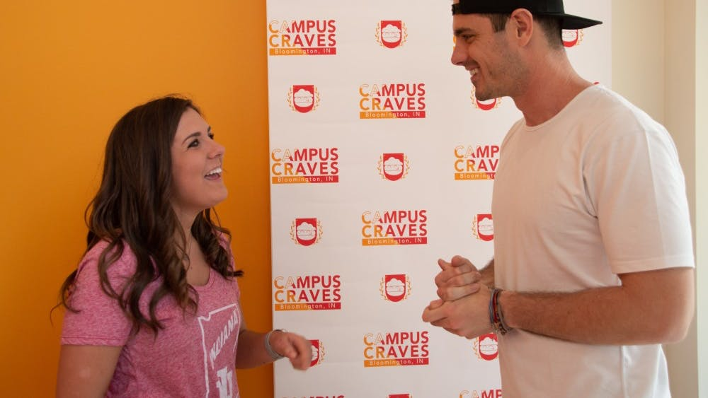 """Campus Craves organized a meet and greet with former contestant on """"The Bachelor"""" Ben Higgins from 5 to 7 April 10. The meet and greet was a benefit event for the Riley Hospital for Children and IU Dance Marathon."""