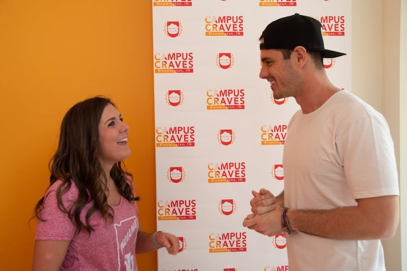 "Campus Craves organized a meet and greet with former contestant on ""The Bachelor"" Ben Higgins from 5 to 7 April 10. The meet and greet was a benefit event for the Riley Hospital for Children and IU Dance Marathon."