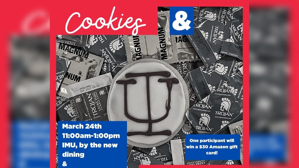Advocates for Youth Condom Collective members are partnering with IU's Union Board and the School of Public Health for a Cookies and Condoms event Wednesday, March 24, in the Indiana Memorial Union basement.