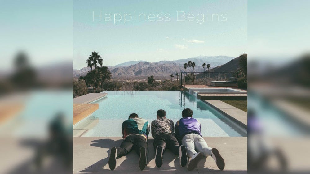 Jonas Brothers released its fifth studio album 'Happiness Begins' June 7. It's the group's first studio album since 2009.