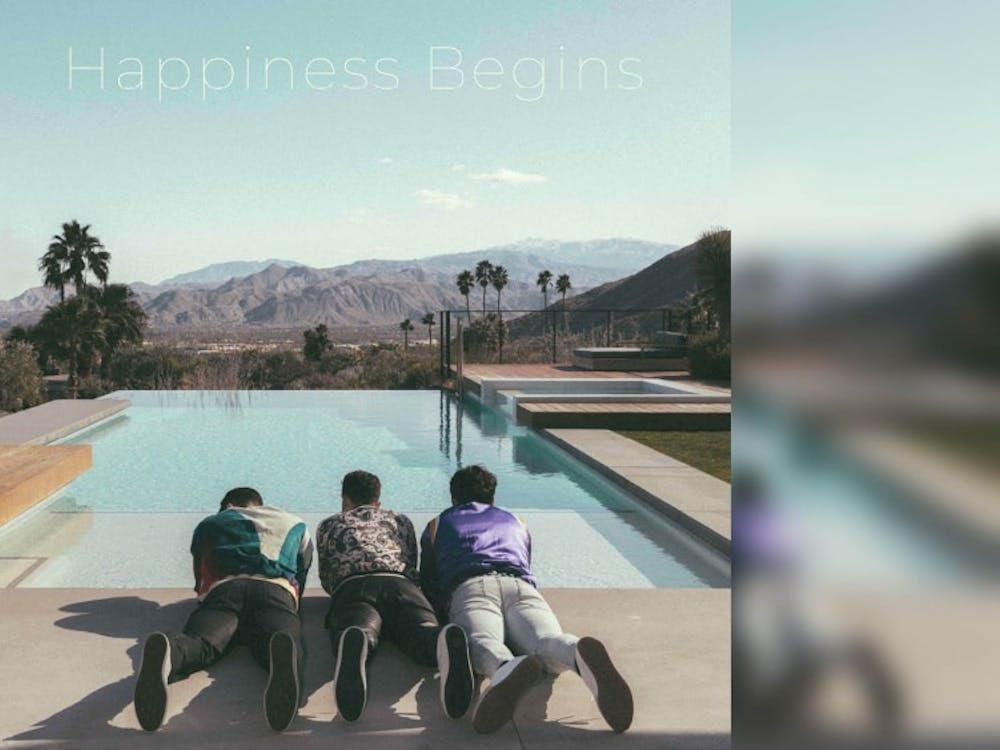 Jonas Brothers released its fifth studio album 'Happiness Begins' June 7. It's the group's first studio album since 2009.