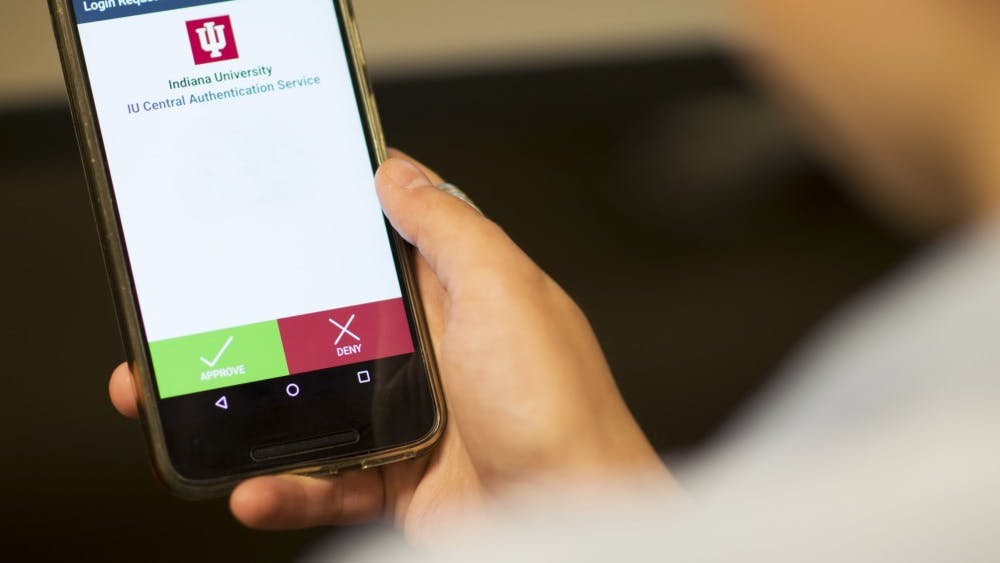 Duo is IU's two-step login system that requires users to register a secondary device to log in from. Any IU student not registered on Duo by Nov. 2 will be unable to access most of the University's online systems.