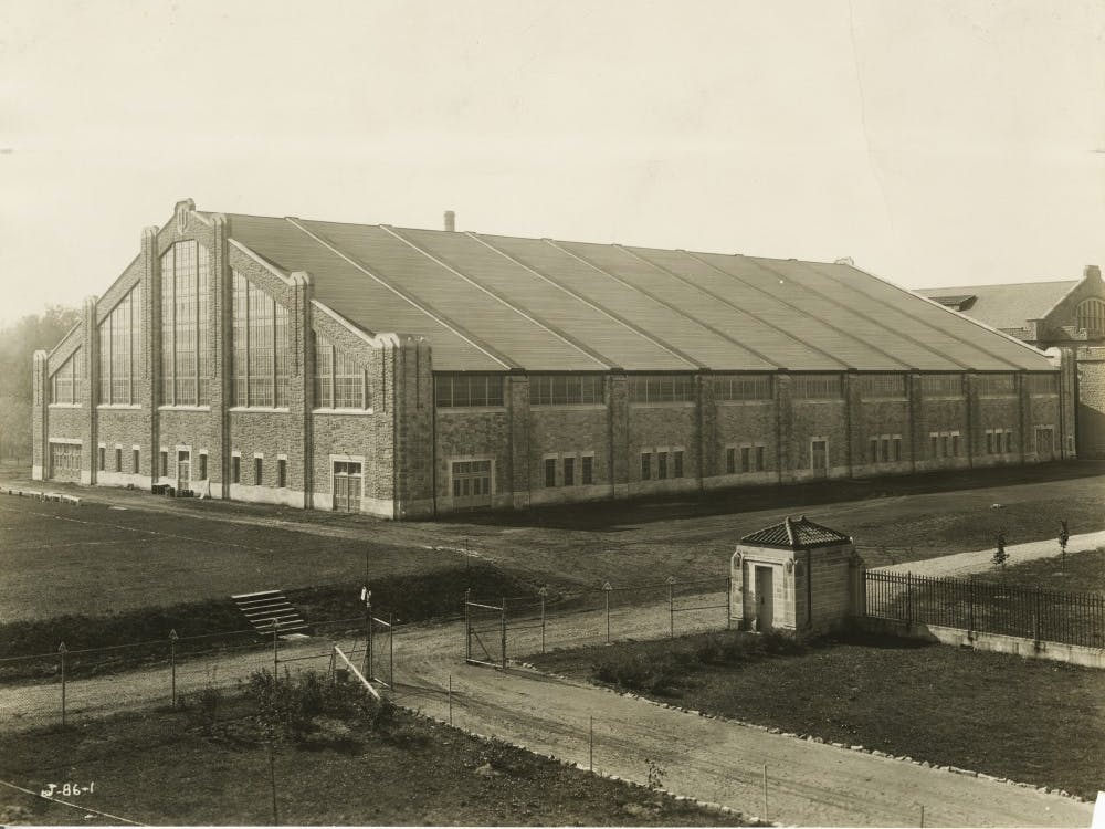 The old Fieldhouse was completed in 1928.