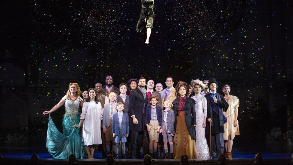 "The musical ""Finding Neverland"" will play April 23 and 24 at the IU Auditorium. The musical was the winner of Broadway.com's Audience Choice Award for Best Musical, according to the IU Auditorium's website."