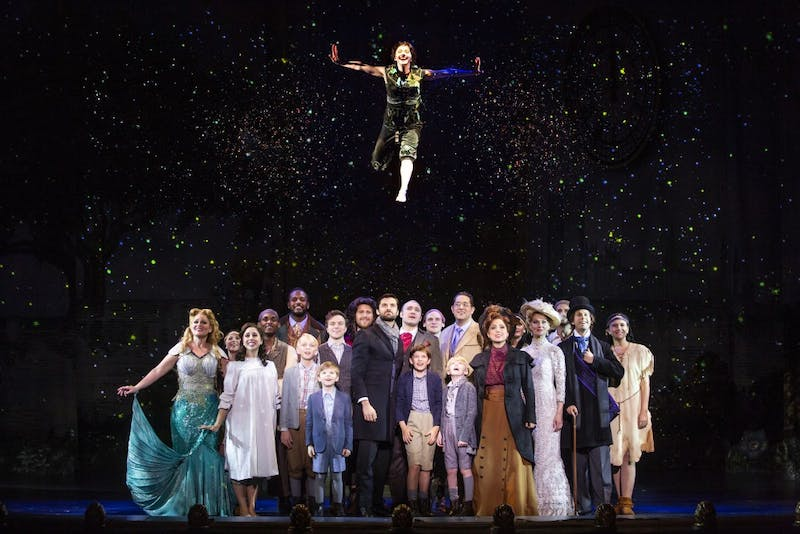 """The musical """"Finding Neverland"""" will play April 23 and 24 at the IU Auditorium. The musical was the winner of Broadway.com's Audience Choice Award for Best Musical, according to the IU Auditorium's website."""