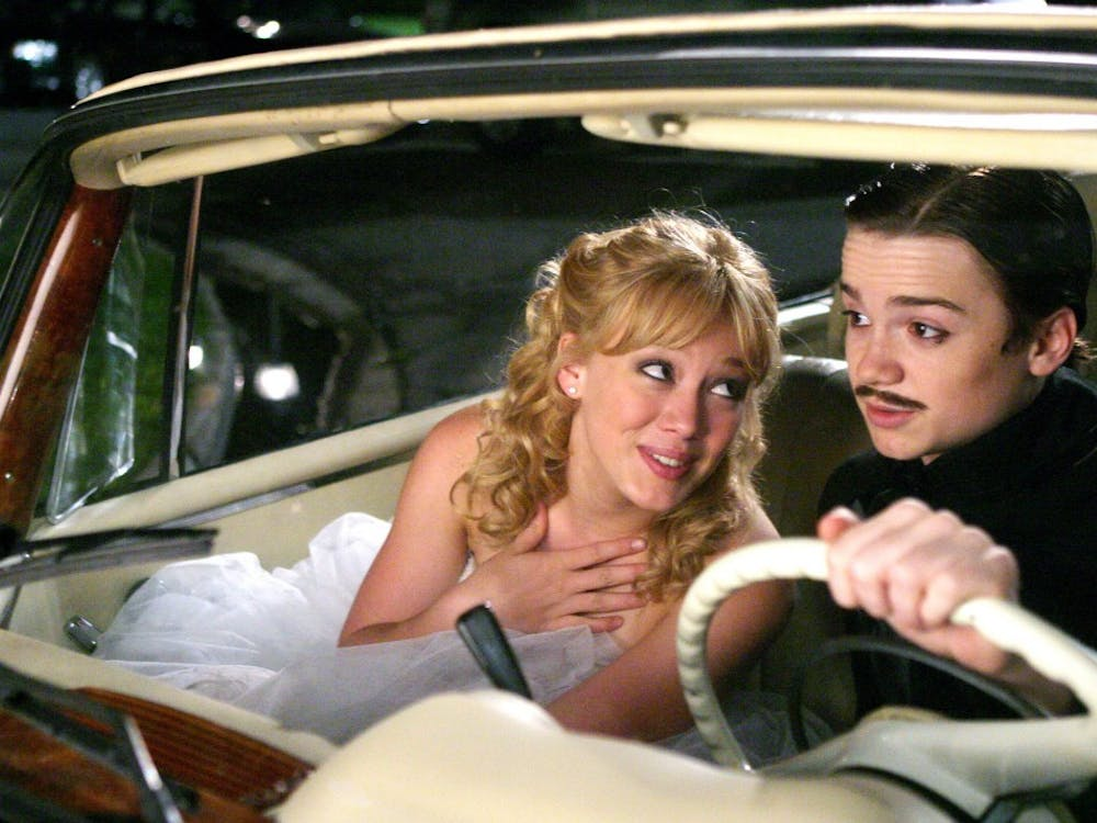 """""""A Cinderella Story"""" came out in 2004. Hillary Duff and Dan Byrd starred."""