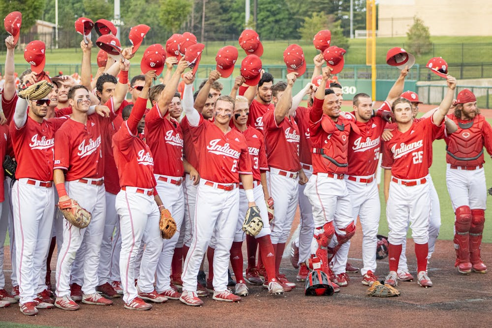 <p>The IU Baseball salutes the friends and family in attendance for the last home game of the season on May 24. The Hoosiers ended their losing streak Monday, defeating Ohio State 2-0 at Bart Kaufman Field.</p>