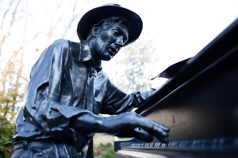 IU honored Hoagy Carmichael's birthday with a concert at noon Nov. 21 in Morrison Hall.