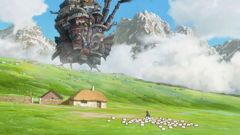 """IU Cinema will be screening the classic Japanese animated movie, """"Howl's Moving Castle"""" this Thursday and Friday. The film was the 14th from Studio Ghibli, a highly acclaimed studio in the Japanese animation industry."""