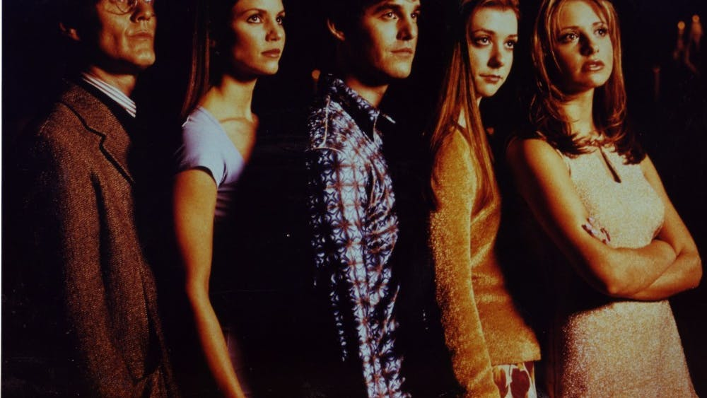 """Buffy the Vampire Slayer"" was a TV show that aired from 1996 to 2003. It was announced that a reboot is currently in the works."
