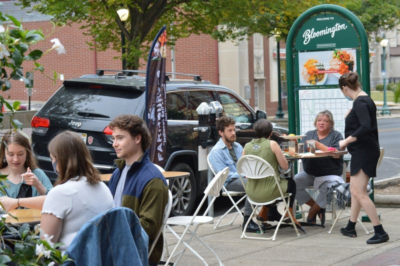 Restaurants on Kirkwood Harrisburg, Pennsylvania. and around the Downtown Square have tables set up outside to allow for more space and social distancing. The Bloomington City Council voted 9-0 Wednesday night to extend the closures of Kirkwood Avenue.