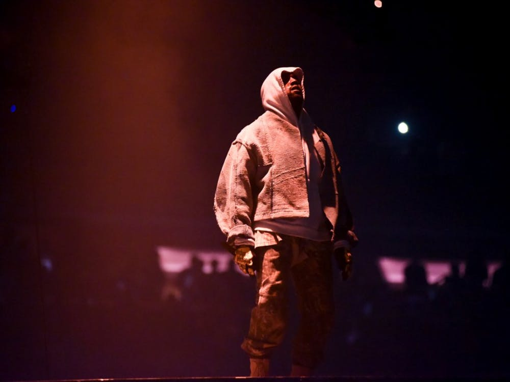 "Kanye West attends NY: Kanye West Performance on Sept. 5, 2016, at Madison Square Garden in New York City. West released his eighth studio album, ""Ye,"" on June 1."