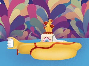 Yellow Submarine, Illustration