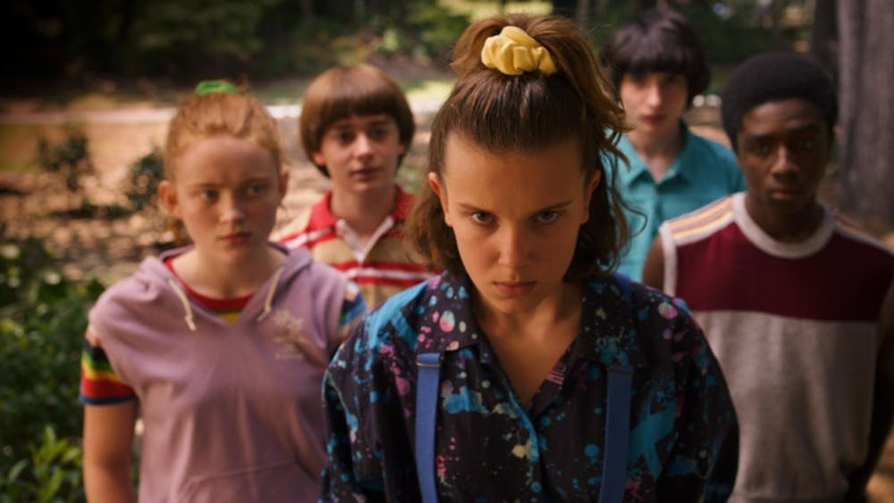 """Stranger Things 3"" was released July 4 on Netflix. The show stars Millie Bobby Brown and Finn Wolfhard."