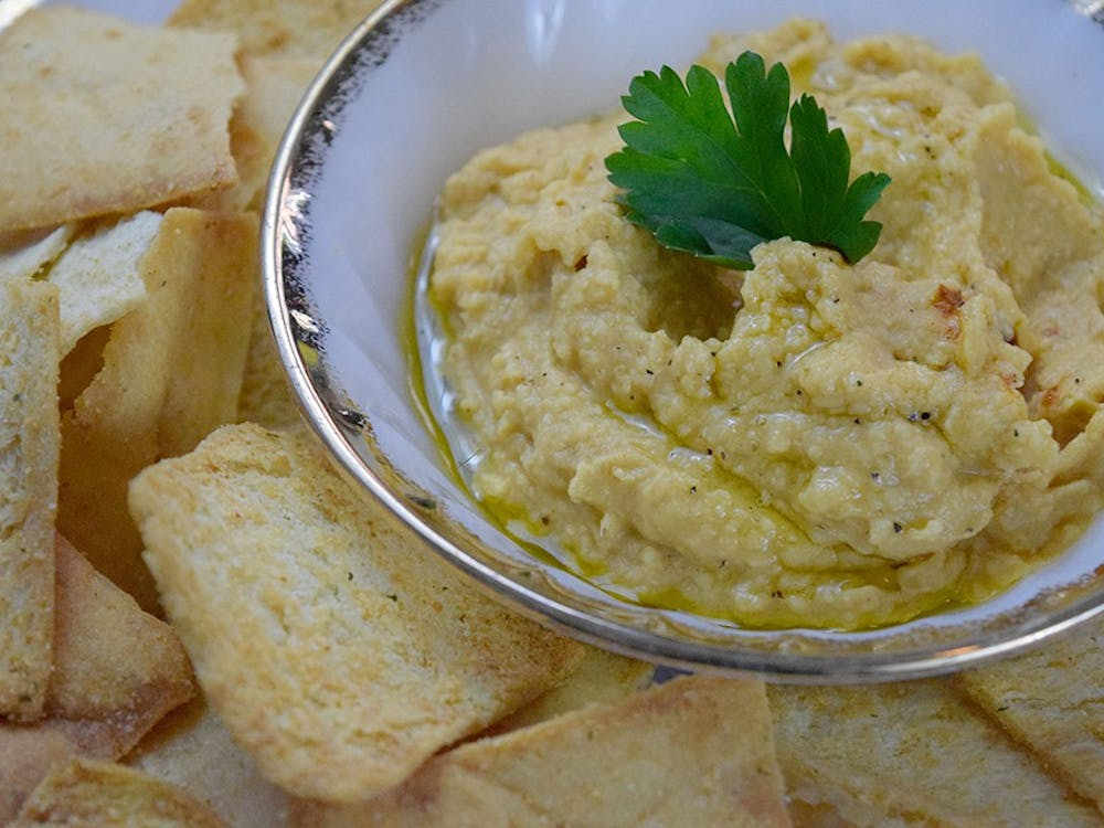 This hummus recipe puts a Korean twist on traditional hummus recipes and can be paired with pita chips or bread.