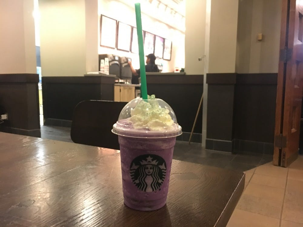 Starbucks unveiled its Witch's Brew Frappuccino on Oct. 25 and has the drink in stores through Oct. 31.