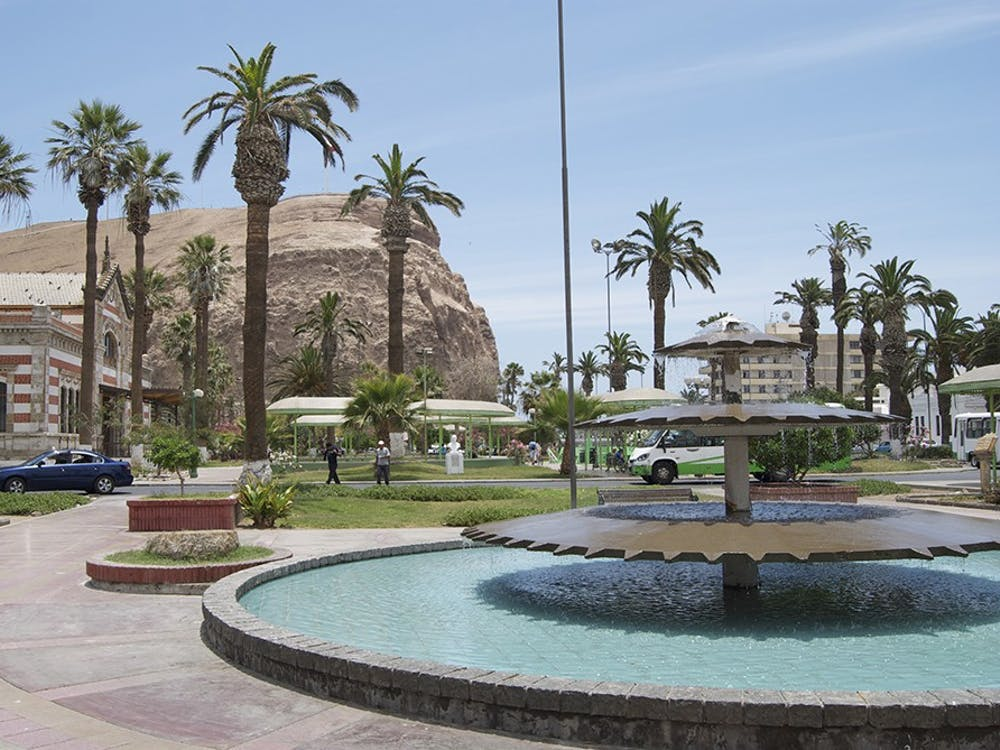 "Arica is known as the city of ""eternal spring,"" for its constant sunshine and the fact that it never rains."