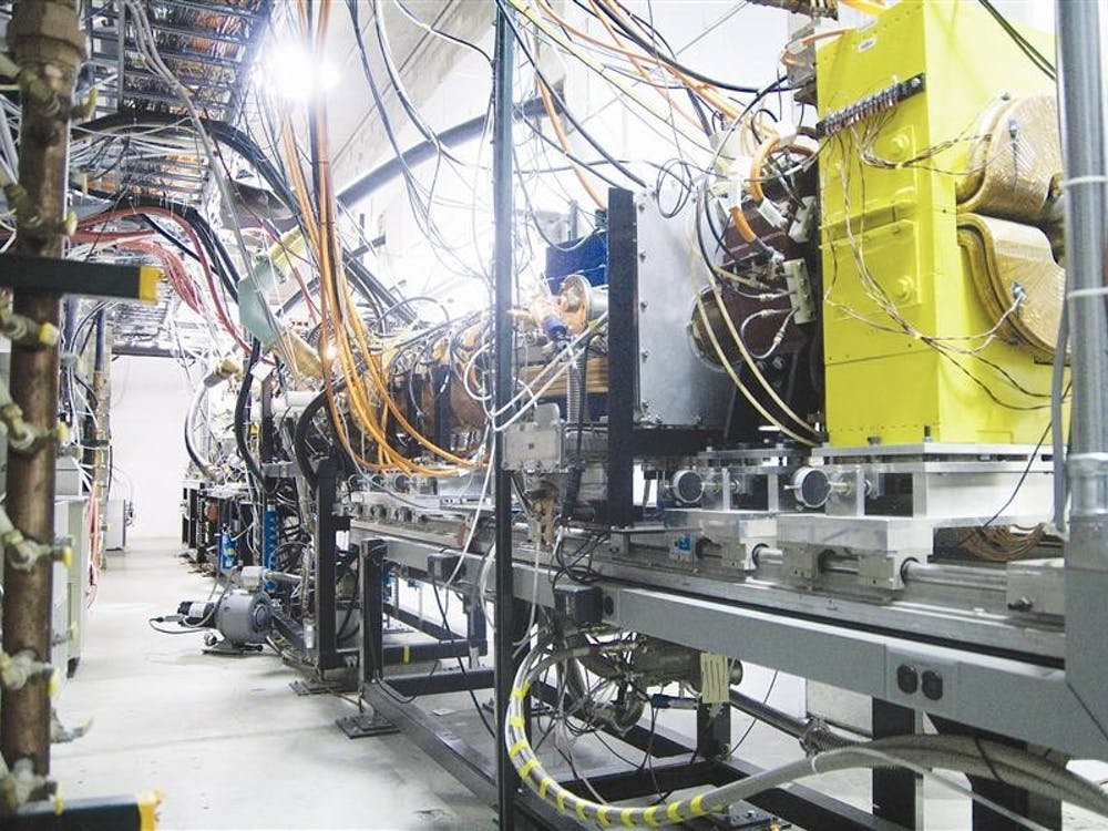 The linear accelerator produces a beam of protons that will be used to extract neutrons from Beryllium metal. The Proton Linear Accelerator is used to treat cancer patients as well as its role in physics experiments.