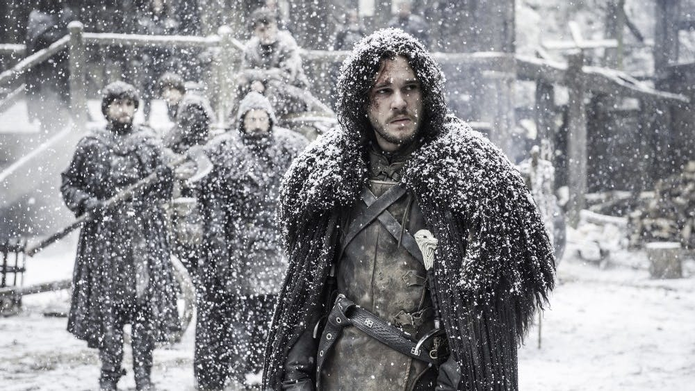 "Kit Harington in season 5, episode 9 of HBO's ""Game of Thrones."" (Helen Sloan/Courtesy HBO/TNS)"