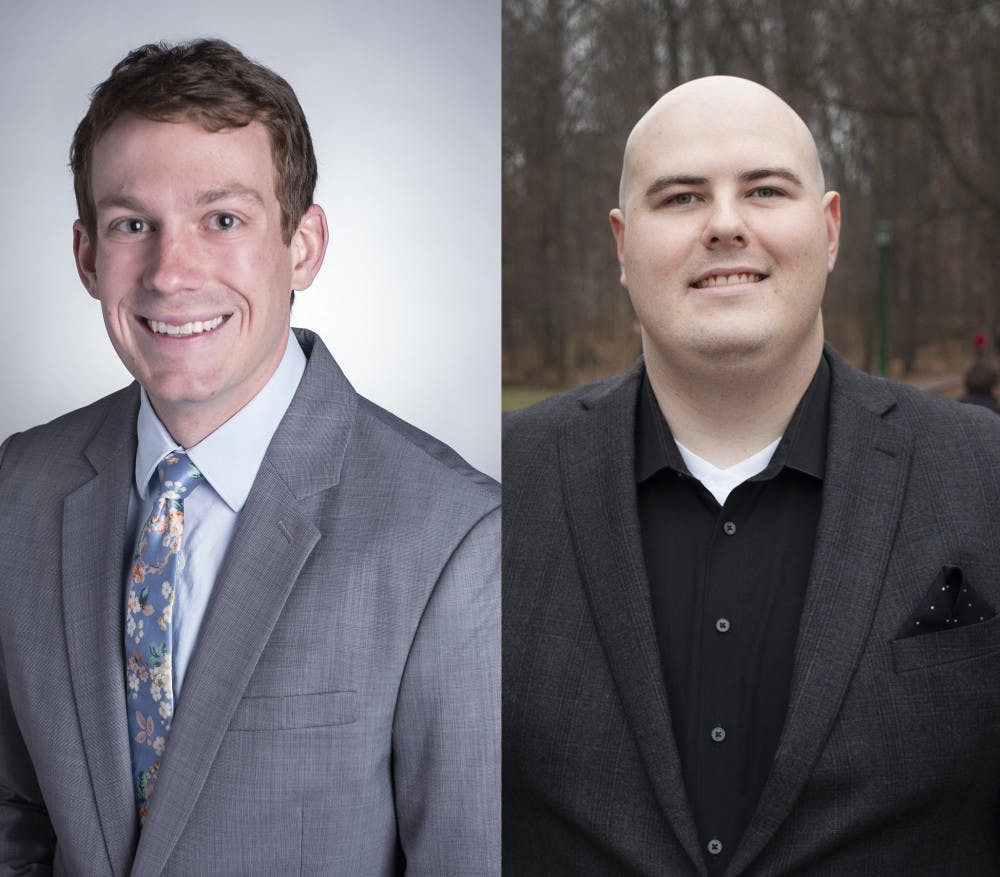 <p>Two IU students are running for positions in the Bloomington city council. Matt Flaherty, School of Public and Environmental Affairs graduate student, is running for one of the three at-large positions and undergraduate Ryan Maloney, law and public policy major, is running for the District 5 position.</p>