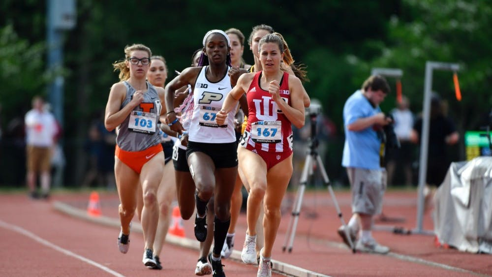 IU competes at the Big Ten Outdoor Track and Field Championships from May 11-13, 2018,  at the Robert C. Haugh Track and Field Complex in Bloomington. IU will participate in the Florida Relays from March 28-30 and the Stanford Invitational from March 29-30.