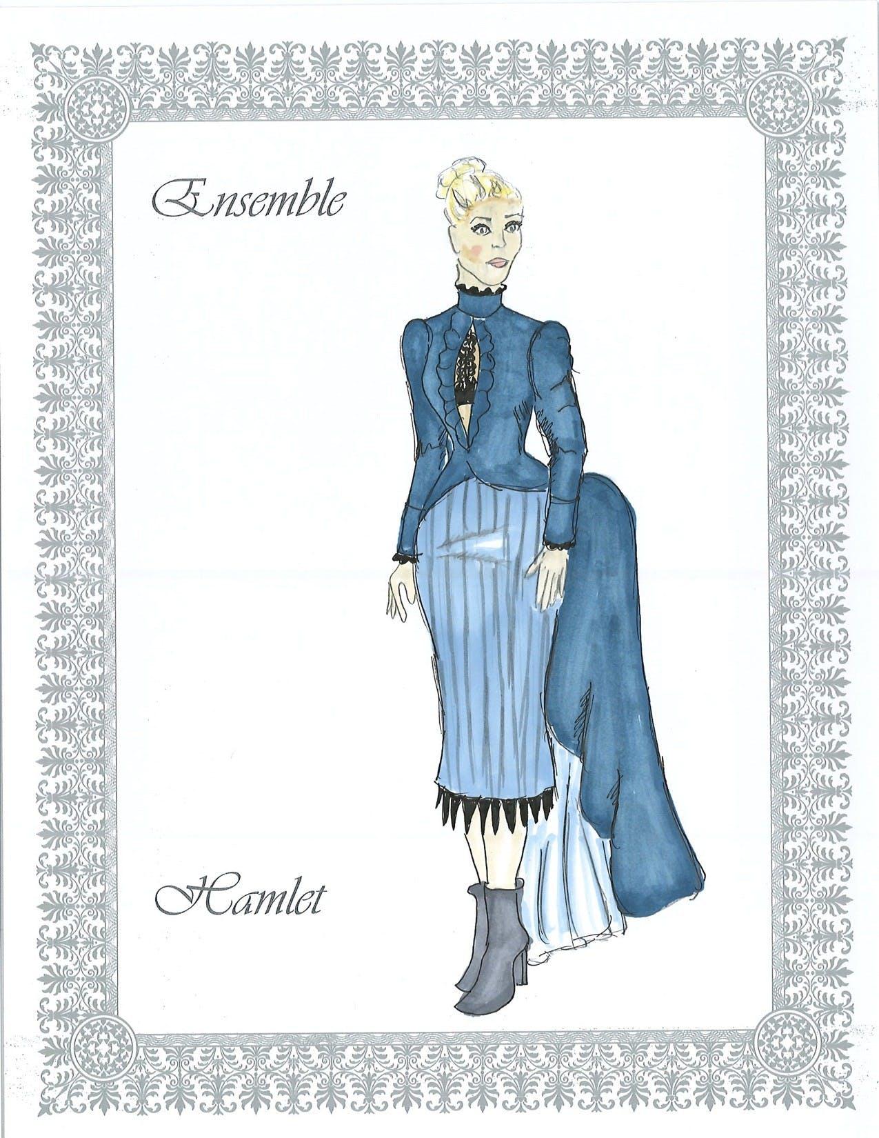Ensemble costume design
