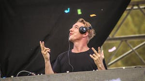 Diplo performs at the Utopia Festival in 2016. Diplo, Whethan and Teenage Wrist will perform at this year's Welcome Week Block Party on Aug. 18.