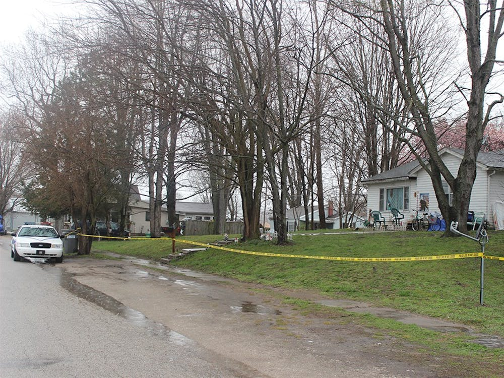 The home in Spencer, Indiana where Shaylyn Ammerman was last seen, on the 400 block of West Jefferson Street, continued to be blocked off by investigators Thursday.