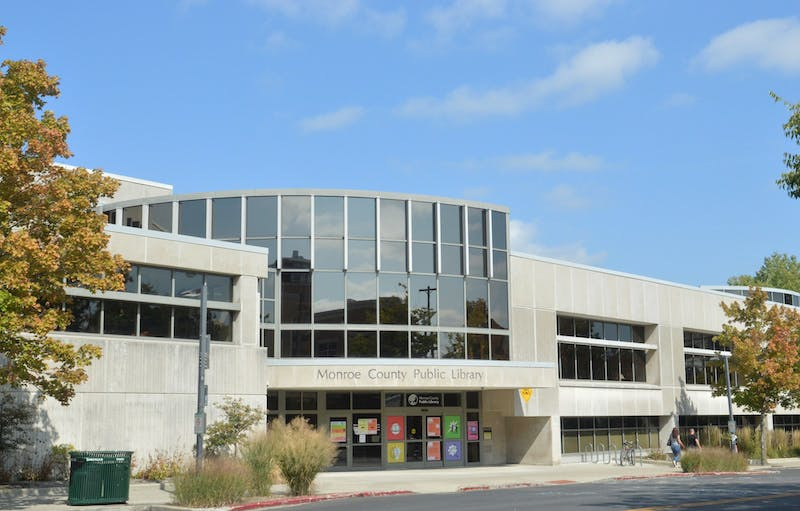 Monroe County Public Library on Kirkwood Avenue will reopen to the public Sept. 28. Patrons and staff will be required to wear face coverings.