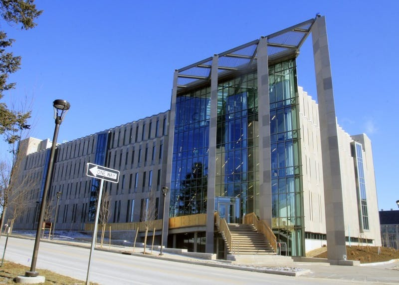 Luddy Hall sits at 700 N. Woodlawn Ave.