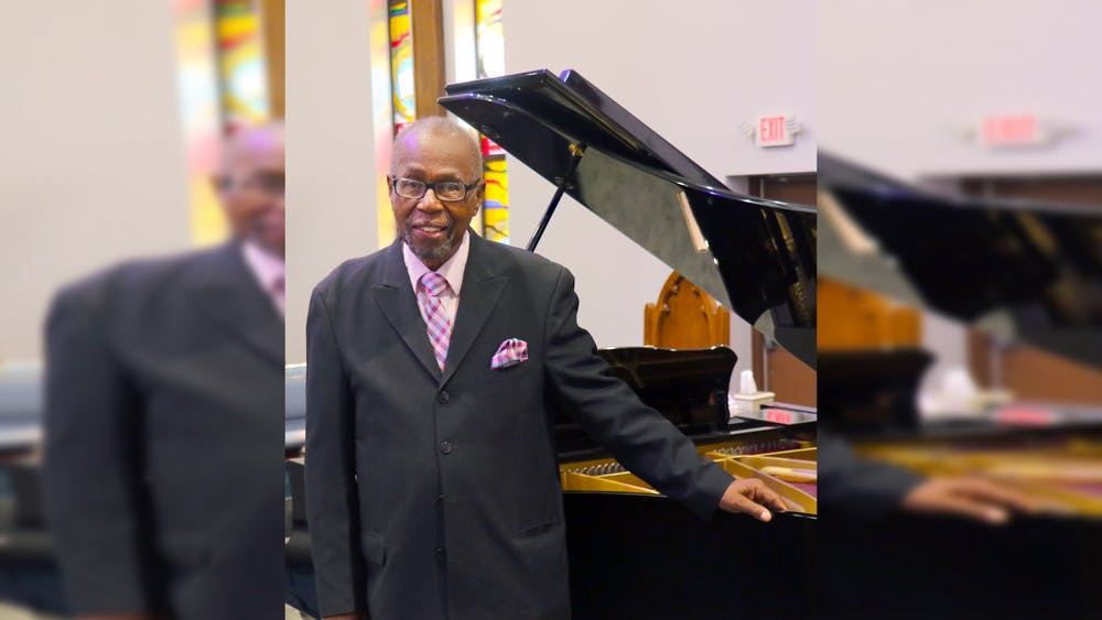 Rev. Dennis Freeman is one of the featured musicians in the Elder Music Recording Project and a gospel pianist in Indianapolis. Traditional Arts Indiana is planning to press, release and sell more than 1000 CDs of music by the older musicians.
