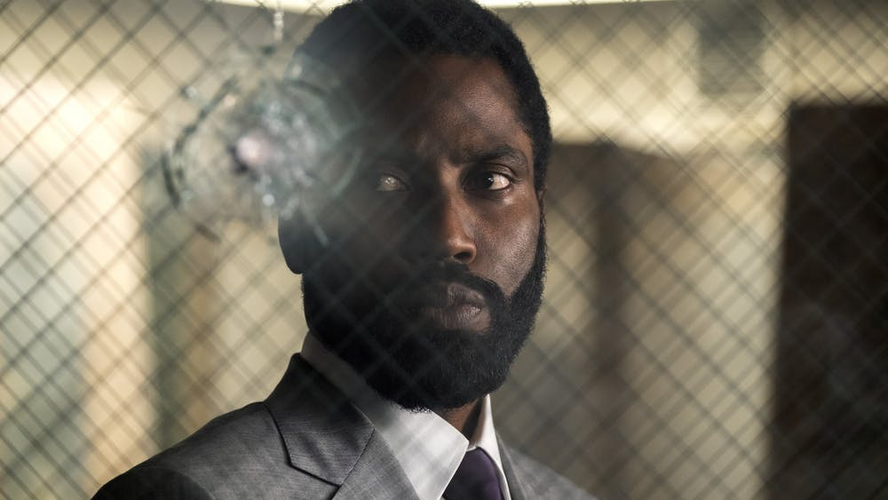 "John David Washington plays a starring role in the new movie ""Tenet."""