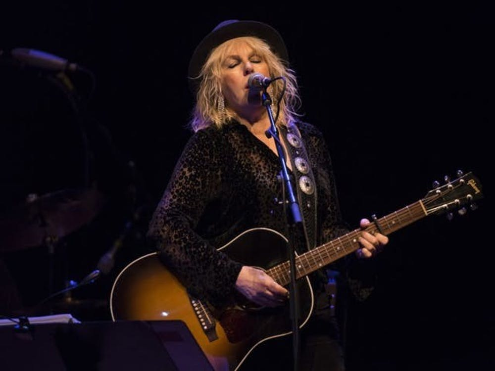 Lucinda Williams performs April 13 at the Fitzgerald Theater. Williams will perform live Aug. 10 at the Buskirk-Chumley Theater.